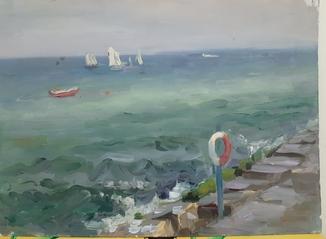 Море,  50-60-е гг.