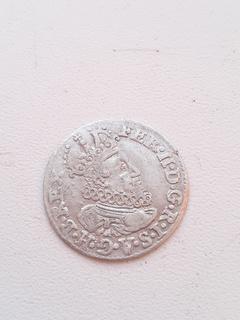 Грош, 9 денариев 1623 года. Фердинанд II. Кремниц. КВ.