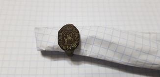 Перстень-печать Федора Маркова сына,17 век