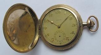 Часы Favor, в позолоченном корпусе