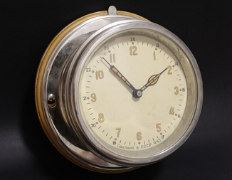 Корабельные часы 1963г.