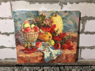 Картина Натюрморт с Калиной - Калюжная Анастасия, 70х80