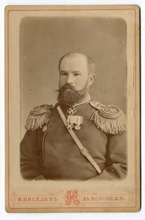 Немыский А. А., подполковник 141-го пех. Можайского полка. Воронеж, 1884 г.