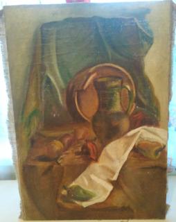 Картина неизвестного художника 50 на 70см.