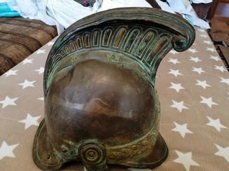 Шлем пожарного Франции образца 1841 года.