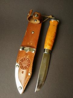 Нож скаута Erik Frost Mora Sweden с компасом. N20.