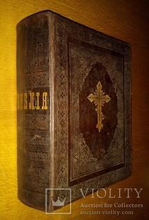 Большая Библия Киево-Печерская Лавра Киев 1909 г.