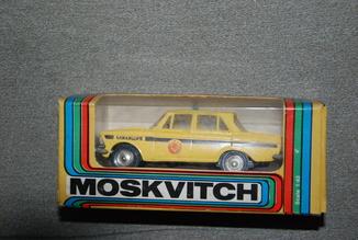 Москвич 412 А8  милиция