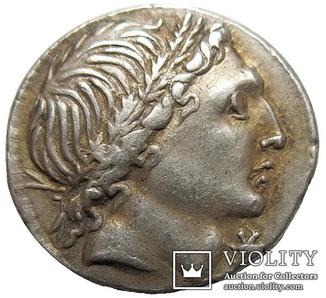 Республиканский денарий  L. Memmius 109 г. до н.э.