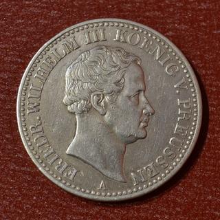 """1 Талер """"Горный"""" Пруссия 1835 год, Фридрих Вильгельм III"""