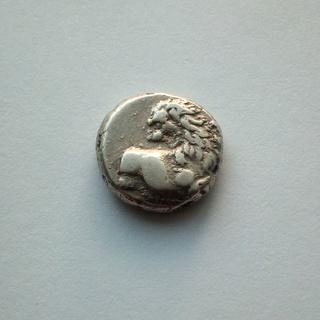 Гемидрахма (серебро)  Фракия, г. Херсонес, 386-338 гг.до н.э.