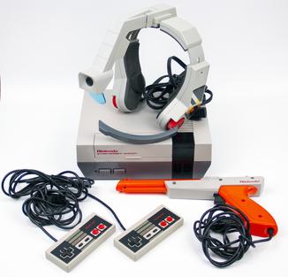 Игровая приставка Nintendo Entertaiment System (NES) USA