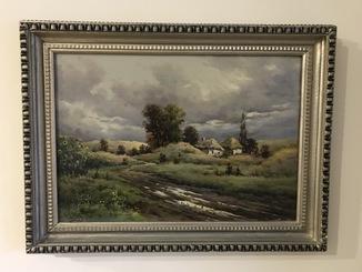 "Картина Н.Луговенко ""После дождя"" х.м.35х50см."