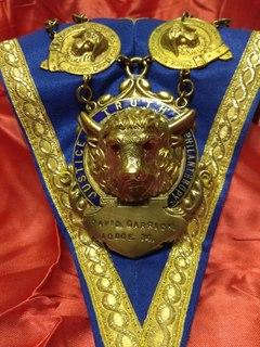 Ошейник Старинного Королевского Ордена Буйволов ложа №34