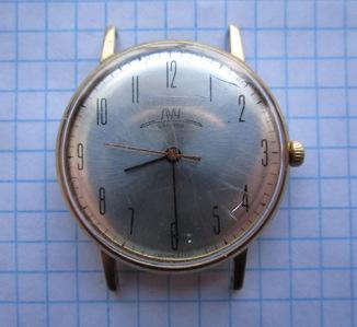 Часы Луч корпус Au10 позолота, тонкие