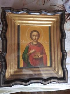 Икона Св.Пантелеймон, Афон