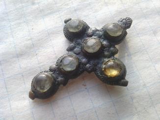 Казацкий крестик с камешкам