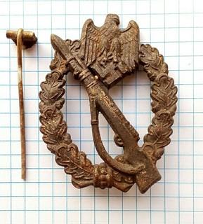 Штурмовой пехотный знак.