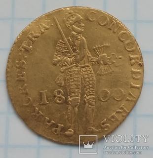 Золотой дукат 1800 г