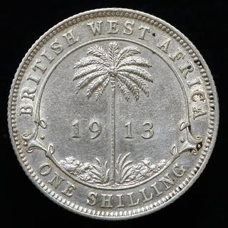Британская Западная Африка 1 шиллинг, 1913