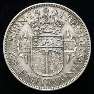 Южная Родезия ½ кроны, 1941