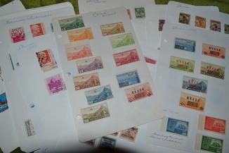 Лот марок Китай . 302 шт