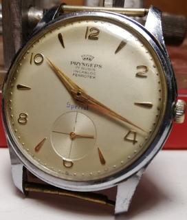 Часы Pryngeps, special. 17 камней с боковой секундной стрелкой.