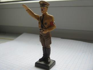 Фигурка Адольф Гитлер, Резина, Высота-78 мм.