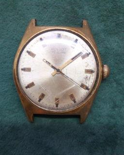Часы Полет 17 камней СССР позолота Ау 20 на ходу