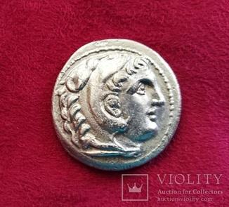 Александр ІІІ Великий тетрадрахма