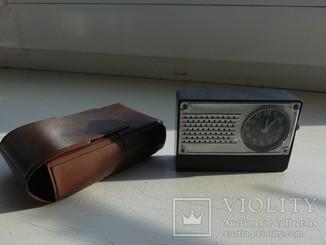 Дорожные карманные часы будильник Луч CCCР