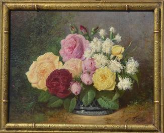 Евгений Форест (1808—1891) масло, 1883 г.