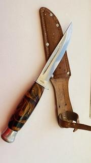 Нож охотничий с компасом