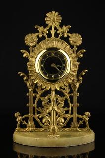 Настольные, интерьерные механические часы. Германия (0615)
