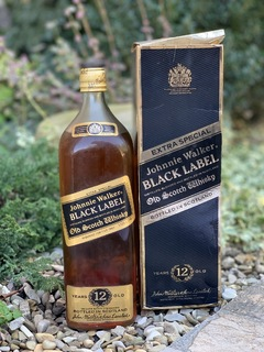 Whisky Black Label 12 1990s