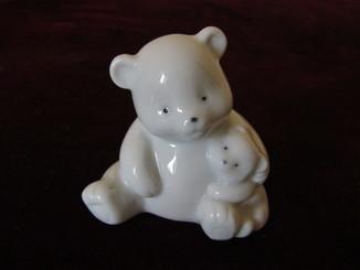 Статуэтка миниатюра Медвежата фарфор Германия