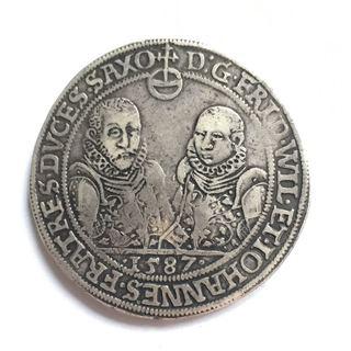 Талер 1587 г.