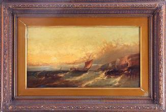 Виллиям Гарри Вилльямсон (1820-1883)Англия. Масло, 19 век