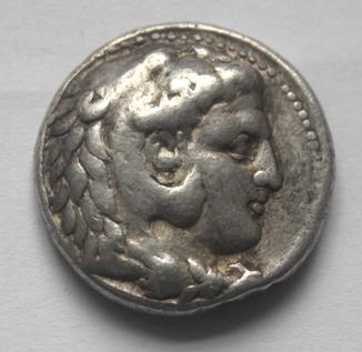 Тетрадрахма Александра Македонського