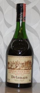Delamain Pale & Dry Grande Champagne Cognac - 1980s