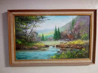 Климкович, горный пейзаж