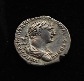 Траян 103-111 гг Серебро 3.45 г
