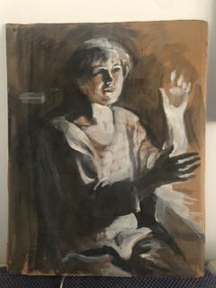 "Генриетта Левицкая, картина ""Портрет"""