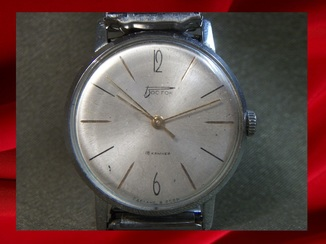 Мужские наручные часы Восток, СССР. 18 камней. Гравировка от МООП УССР 1966 год