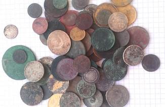 75 монет на опыты .Разные