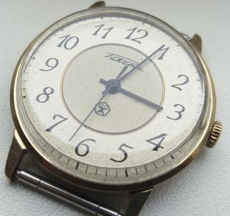 Часы Ракета (знак качества) позолота Au