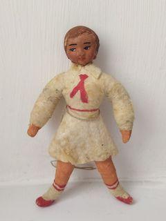 Старая ватная игрушка из ваты 2 пионер