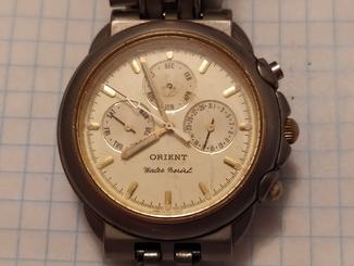 Часы ORIENT хронограф G6K01.
