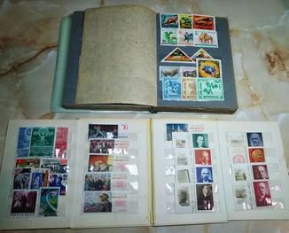 Коллекция Марки стран мира + ссср 304 шт, Фото всех марок. Два альбома ссср.