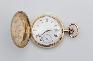 Золотые карманные часы Louis Grisel